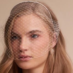 Anthropologie BHLDN Birdcage Veil by Jennifer Behr